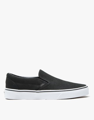 Classic Slip-On in Black/White $65 thestylecure.com