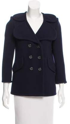 Marc Jacobs Double-Breasted Wool Blazer