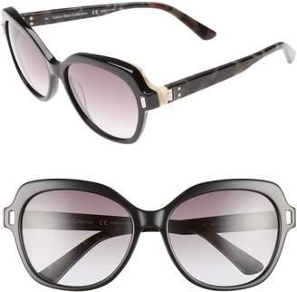 Calvin Klein 56mm Square Sunglasses
