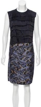 Dries Van Noten Printed Sleeveless Dress