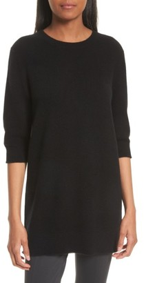 Women's Vince Elbow Sleeve Cashmere Tunic $295 thestylecure.com