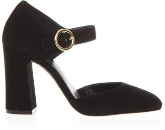 MICHAEL Michael Kors Black Alana Sandals In Leather
