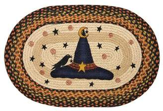 EarthRugs Witch Hat Printed Oval Area Rug Rug
