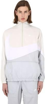Nike Nsw Vw Swoosh Woven Half Zip Jacket