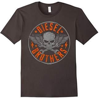 Diesel Brothers Go Hard Go Skull Cross Wrench T-Shirt