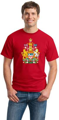 Co Ann Arbor T-shirt CANADIAN NATIONAL COAT OF ARMS Unisex T-shirt / Canada Pride Flag Shirt