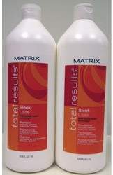 Matrix Sleek Shampoo & Conditioner Liter Duo (Formerly