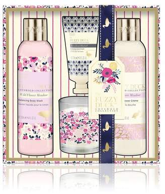 Baylis & Harding Fuzzy Duck Cotswolds Floral Collection Candle And Bath Gift Set - Nude