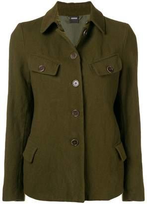 Aspesi button front military jacket