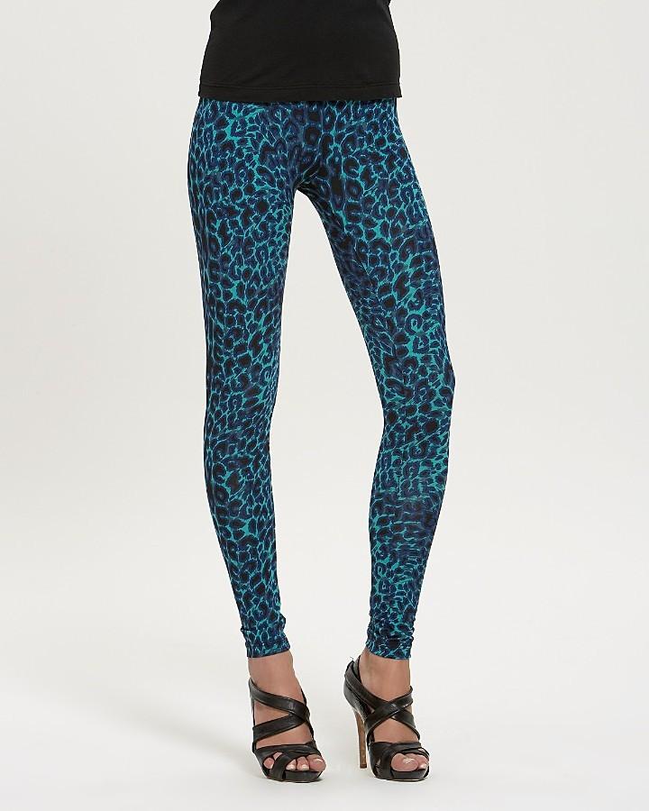BCBGMAXAZRIA Wild Cheetah-Print Jersey Leggings