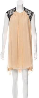 Alexis Chiffon and Lace Dress w/ Tags