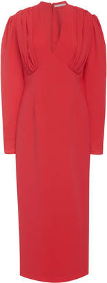 Emilia Wickstead Iliana Full Sleeve Midi Dress