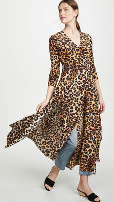 Leone We Are Leopard Wrap Dress