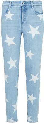 Stella McCartney Star Skinny Ankle Grazer Jeans