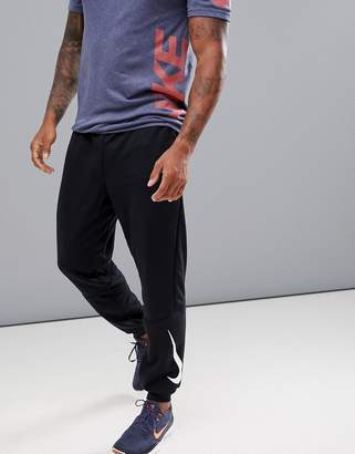 Nike Training Tapered Fleece Joggers In Black 932245-010