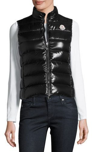 Moncler Moncler Ghany Zip Puffer Vest