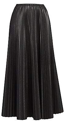 281991a35e Valentino Women's Pleated Silk Maxi Skirt