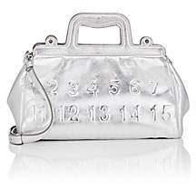 Maison Margiela Women's Small Leather Doctor's Bag - Silver