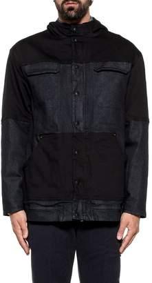 Dondup Dark Blue Aiden Hooded Denim Jacket