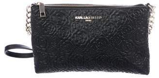 Karl Lagerfeld Embossed Crossbody Bag