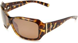 Pepper's Women's Molly Polarized Oval Sunglasses