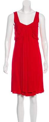 Temperley London Sleeveless Knee-Length Dress