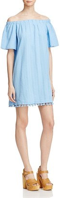 Beltaine Bella Off-the-Shoulder Dress - 100% Exclusive $128 thestylecure.com