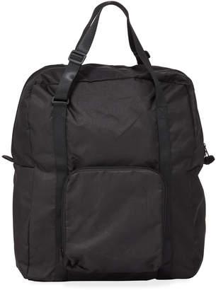 Neiman Marcus Nylon Collapsible Travel Duffel Bag