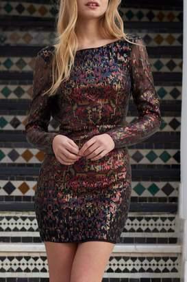 The Jetset Diaries Tapestry Mini Dress