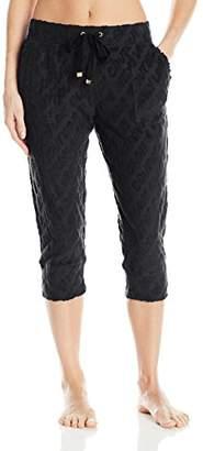 Juicy Couture Label Women's Crop Jogger