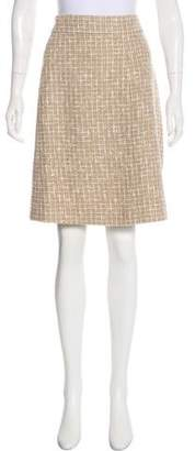 Chanel 2015 Fantasy Tweed Skirt
