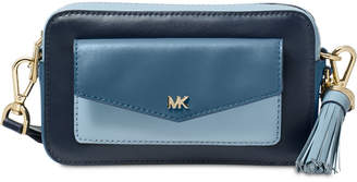 Michael Kors Tricolor Leather Camera Bag