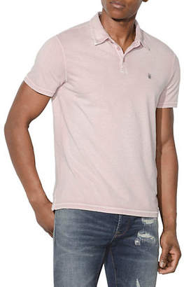 John Varvatos Short Sleeve Peace Polo