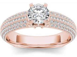 Imperial Diamond Imperial 1-1/2 Carat T.W. Diamond Classic 14kt Rose Gold Engagement Ring