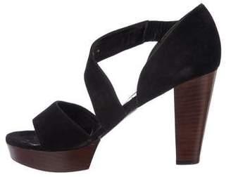 Robert Clergerie Suede Open-Toe Sandals