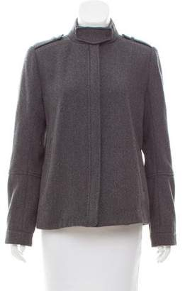 Vince Wool-Blend Zip-Up Jacket w/ Tags