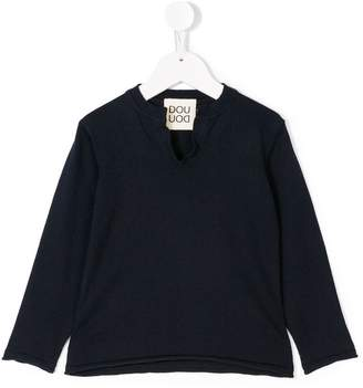 Douuod Kids casual v-neck top