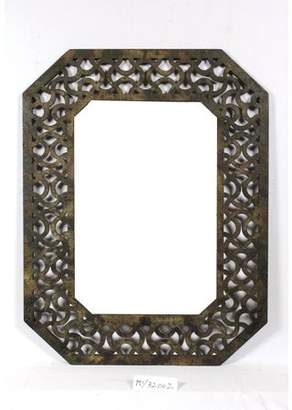 Screen Gems Mirror with Distressed Wood Frame SGT056
