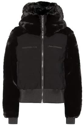 Fusalp Chesery faux-fur short ski jacket