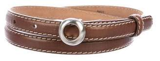 Donna Karan Leather Waist Belt