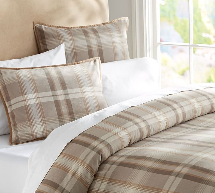 Vail Plaid Duvet Cover & Sham