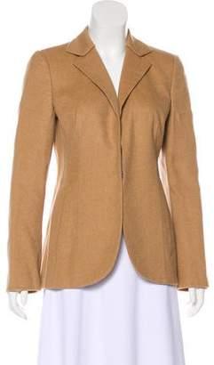 Akris Camel Hair & Silk Blazer