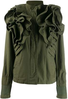Valentino Pre-Owned ruffled military jacket