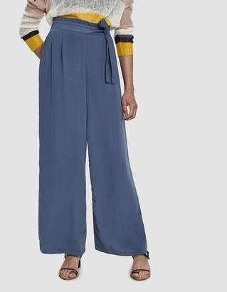 Stelen Abrielle Belted Wide Leg Pant in Glaucous