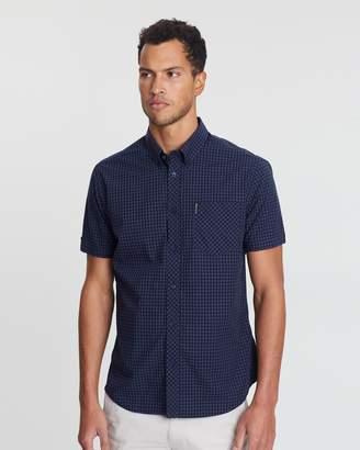 Ben Sherman SS Core Gingham Shirt