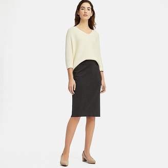 Uniqlo Women's Ponte Pencil Skirt