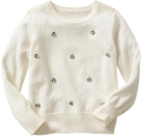 Gap Jewel embellished sweater