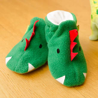 3ff9ba720cd Funky Feet Fashions Dinosaur Baby Shoes And Toddler Slippers