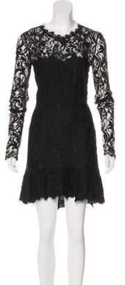 Emilio Pucci Lace Mini Dress w/ Tags Black Lace Mini Dress w/ Tags