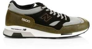 New Balance Men's 1500 Made In England Sneakers - Green Grey - Size 10.5 D